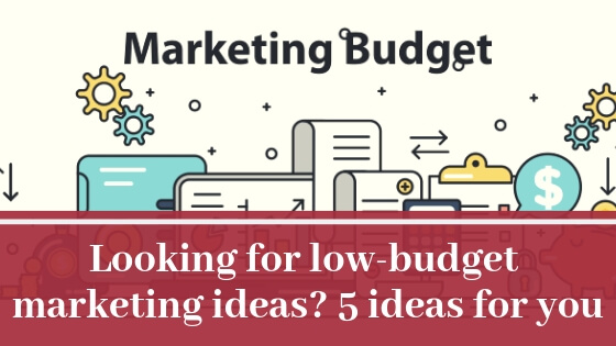 Looking for low-budget marketing ideas