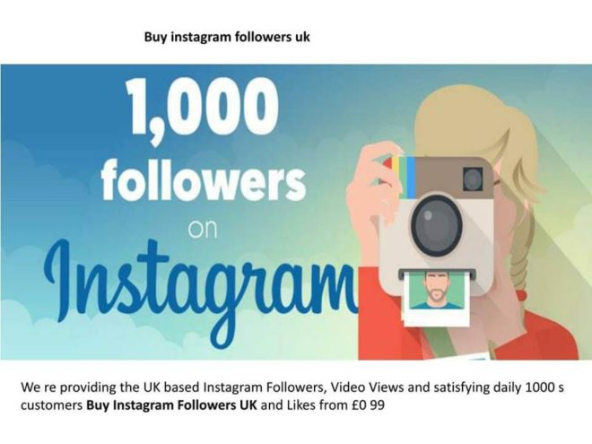 A Guide to Buy Instagram followers UK