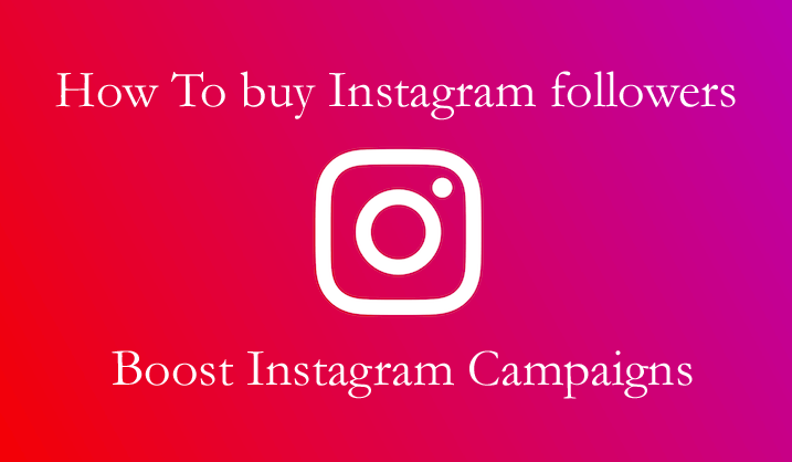 How to buy Instagram followers to boost promotional campaign