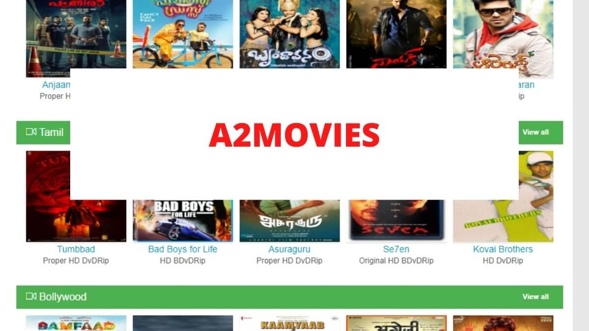 A2movies Website 2020 – Malayalam, Tamil, Telugu New Movies Download – Is it safe site?