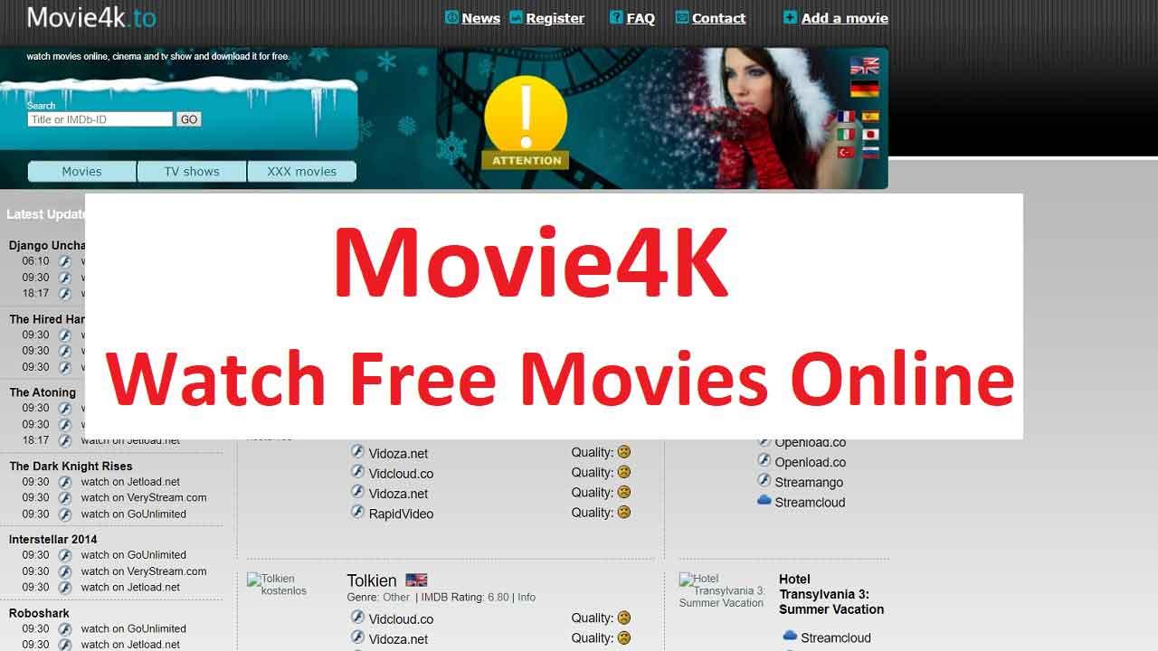 Movie4k Proxy and Mirror sites